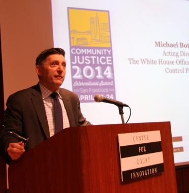 In keynote remarks at Community Justice 2014, Michael Botticelli discusses the importance of public health         strategies in addressing drug addiction.