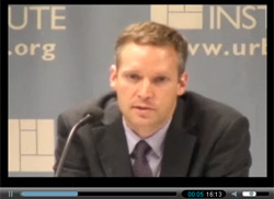 Click on the image above to see Greg Berman discuss criminal justice reform at the Urban Institute.