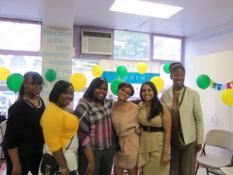 Harlem Youth Court Graduation - with staff