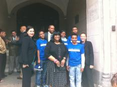Justice Community Plus press conference with CM Debi Rose