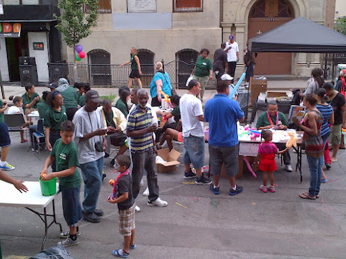 The Harlem Community Justice Center kicks off the Second Annual Harlem Reentry Family Day. (July 18, 2012)