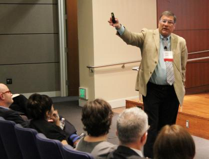 Edward J. Latessa conducts a session on Evidence-Based Approaches to Alternatives to Incarceration at Community         Justice 2014.