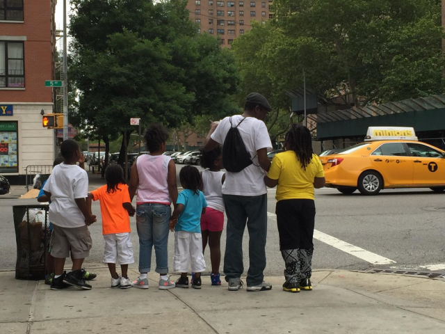 This summer, fathers from the Midtown Community Court's UPNEXT program took their kids to the zoo.
