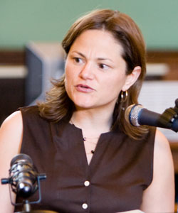 Councilwoman Melissa Mark-Viverito addresses Attendance program graduates