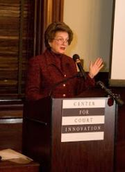 Former Chief Judge Judith Kaye