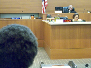 Judge Fred Bonner presides over the Seattle Community Court.