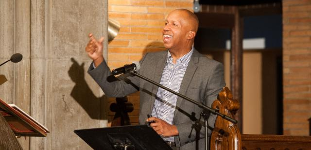 Public interest lawyer, author, and social justice activist Bryan Stevenson talks about mass incarceration at #KnowJusticeHarlem, a talk organized by Circles of Support in collaboration with the Center for Court Innovation's Harlem Community Justice Center, the Center for Justice at Columbia University, and various community groups.
