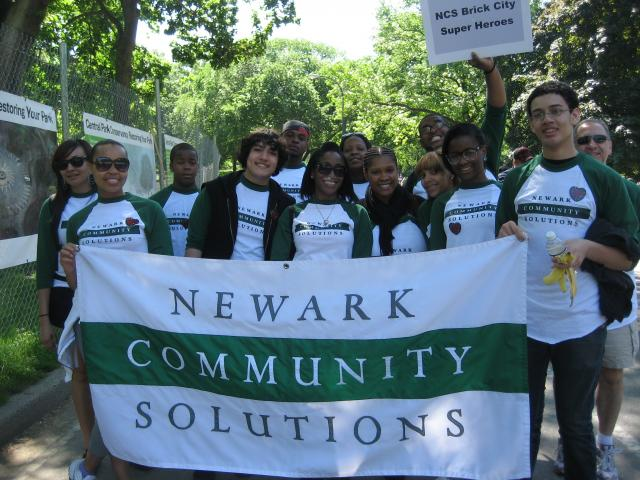 Newark Community Solutions participates in AIDS Walk New York. (May 30, 2012)