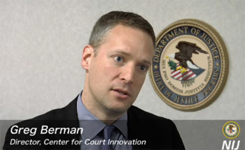 Greg Berman discusses failure at the National Institute of Justice in Washington DC.