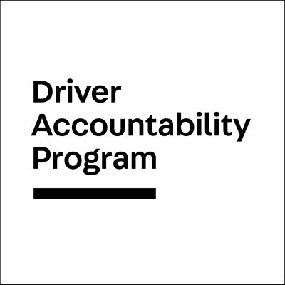 Driver Accountability Program secondary logo square