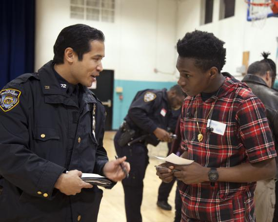 Red Hook Community Justice Center 'Bridging the Gap' event