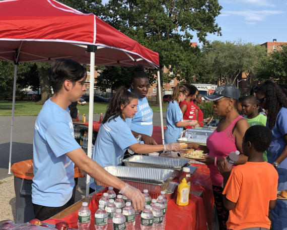Brooklyn Justice Initiatives at the 2019 National Night Out.