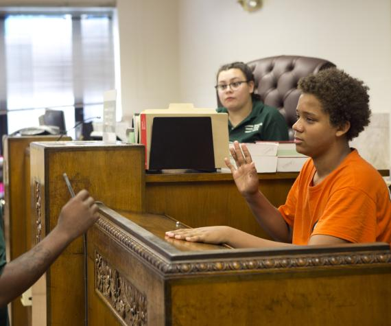 Crimes to teen court galleries 445