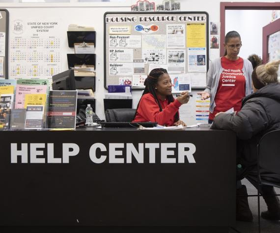 help center Red Hook Community Justice Center
