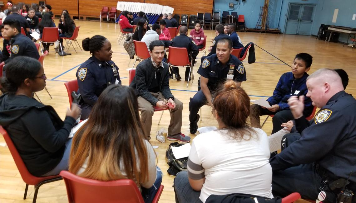 Bridging the Gap Police dialogues