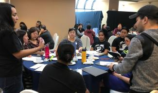 Photo of practitioners in Guam at a training
