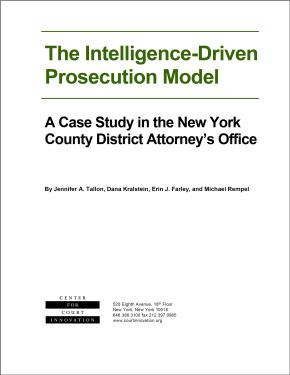 The Intelligence_driven prosecution model