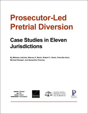 prosecutor-led pretrial diversion case studies