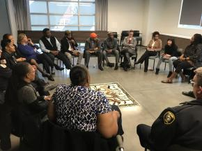 North Lawndale circle meeting