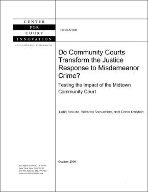 Do Community Courts Transform the Justice Response