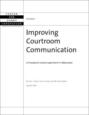 Improving Courtroom Communication
