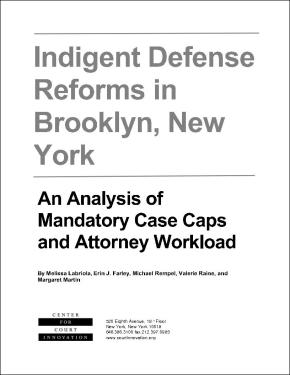 Indigent Defense Reforms in Brooklyn