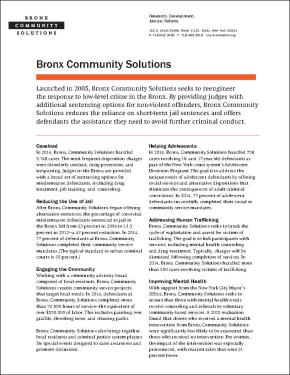 Bronx Community Solutions