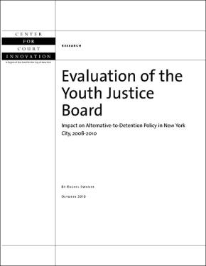 EvaluationYouthJusticeBoard