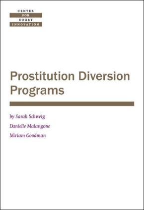 Prostitution Diversion Programs