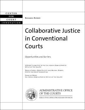Collaborative Justice in Conventional Courts