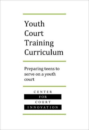 Youth Court Training Curriculum