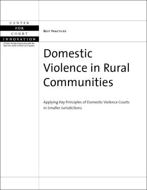 Domestic Violence in Rural Communities