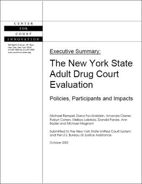 NYS Drug Court Evaluation
