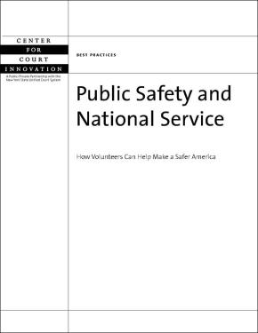 Public Safety and National Service