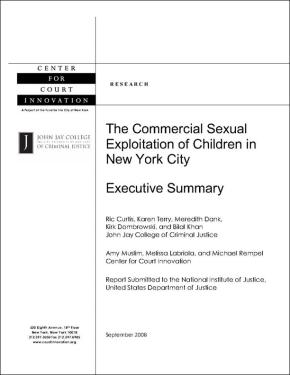 Commercial Sexual Exploitation of Children in NYC: Executive Summary