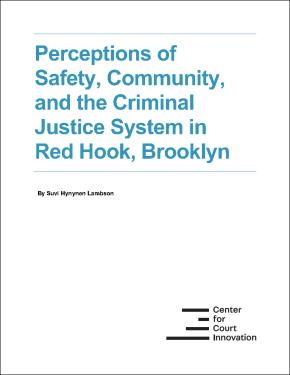 Cover image; Perceptions of Safety, Community, and the Criminal Justice System in Red Hook, Brooklyn