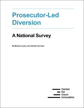 Prosecutor-led Diversion Report cover