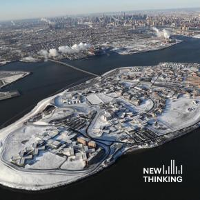 New Thinking podcast Getting People Off Rikers Island in a Pandemic