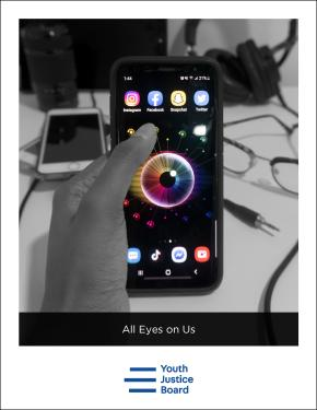 """All Eyes on Us"" front cover"