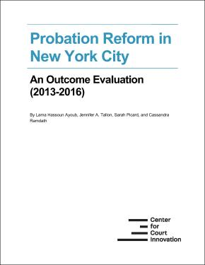 Probation evaluation cover