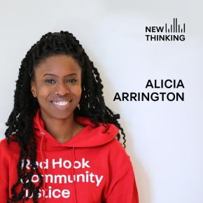 New Thinking podcast with Alicia, Neighborhood Safety Initiatives