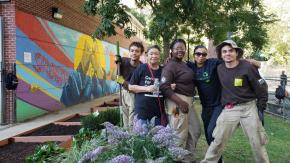 Neighborhood Safety Initiatives gardening and building strong neighborhoods
