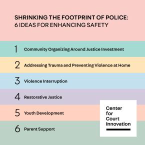 Shrinking the Footprint of Police: 6 Ideas for Enhancing Safety