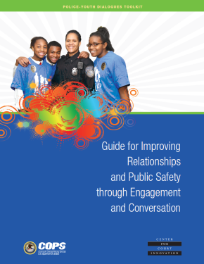 Police-Youth Dialogues Toolkit